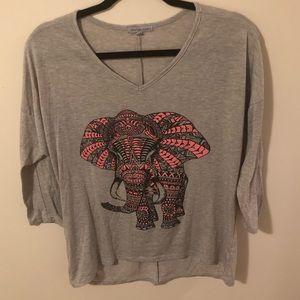 Charlotte Russe Tops - Elephant Shirt